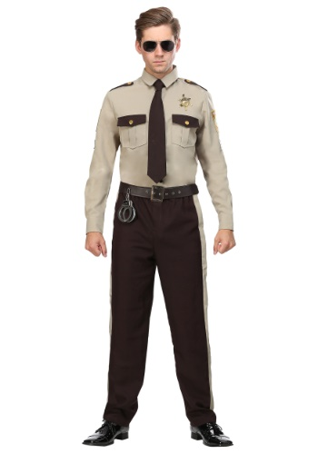 Plus Size Men's Sheriff Costume