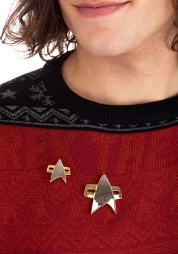 Star Trek Voyager Magnetic Communicator Badge