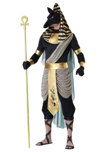 Men's Anubis Plus Size Costume