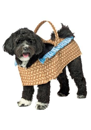 Doggie in a Basket Dog Costume