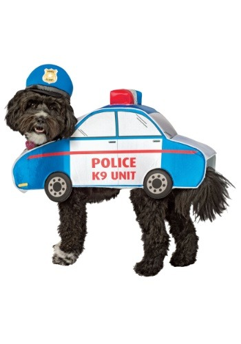K-9 Police Car Dog Costume