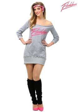 Women's Plus Flashdance Costume