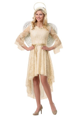 Women's Lace Angel Costume