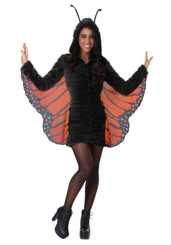 Women's Plus Size Cozy Monarch Costume