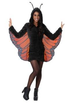 Women's Plus Size Cozy Monarch Costume