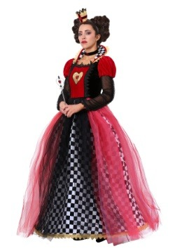 Plus Size Ravishing Queen of Hearts Costume