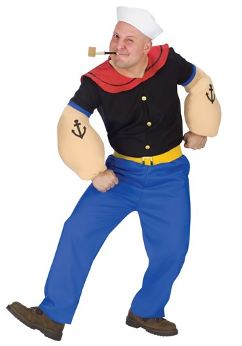 Adult Popeye Costume