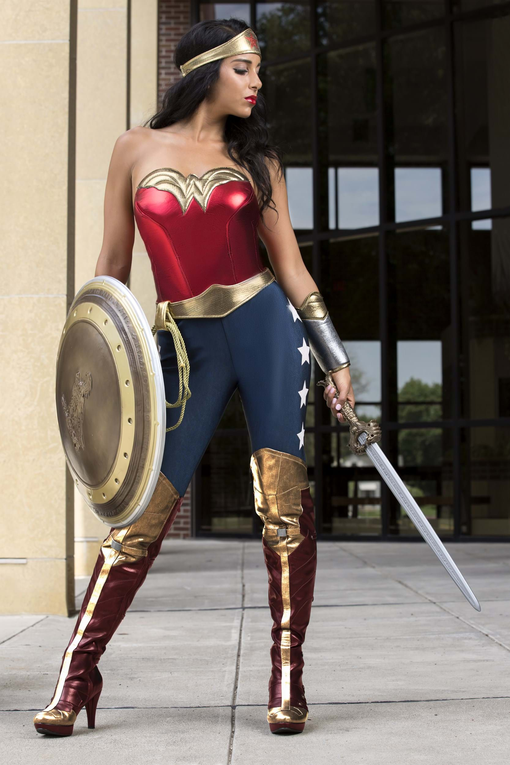 Dc Wonder Woman Adult Costume-1785
