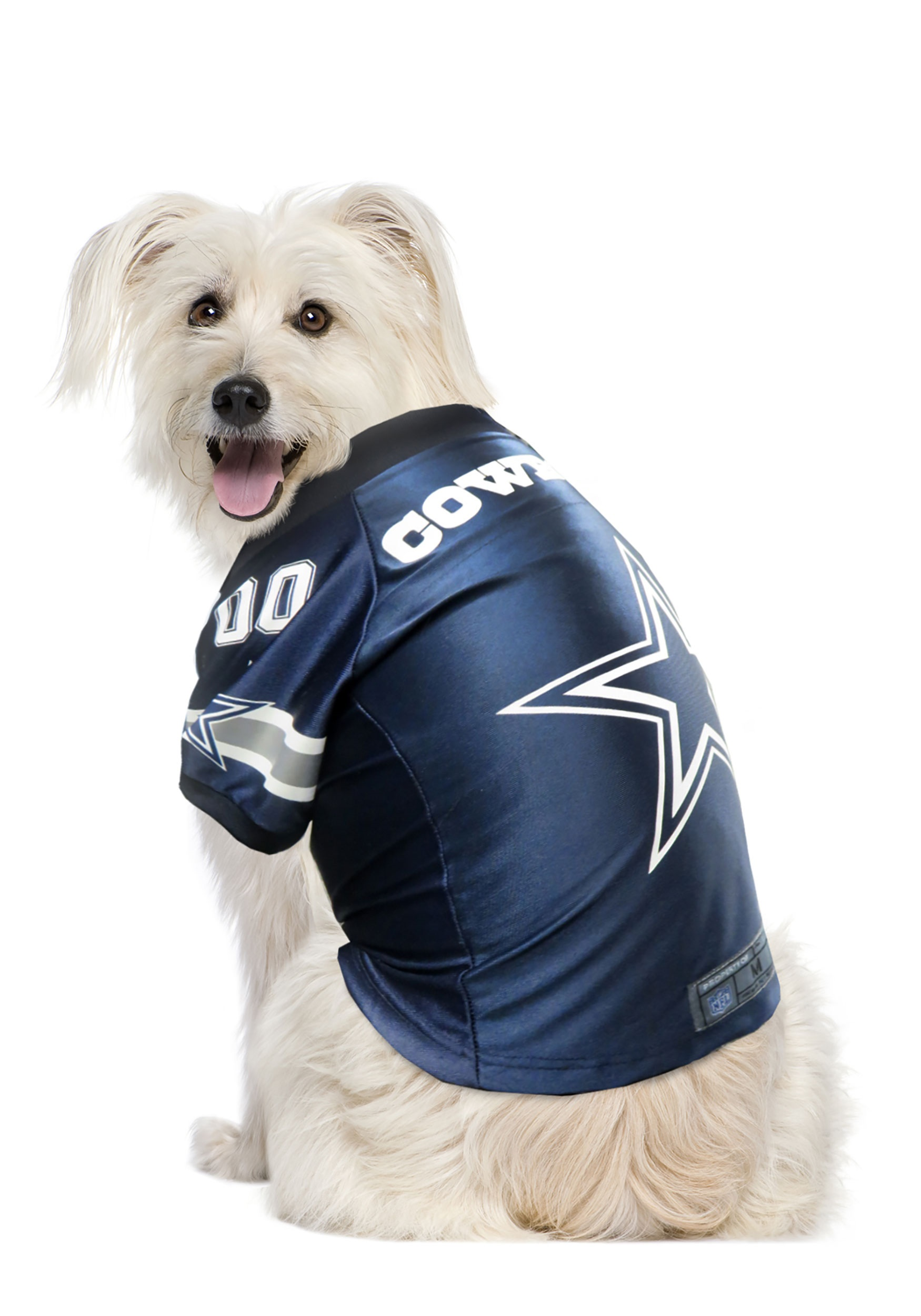 INOpets.com Anything for Pets Parents & Their Pets NFL Dallas Cowboys Premium Jersey for Pets