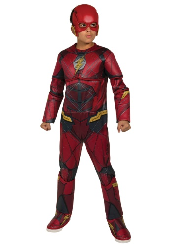 Justice League Deluxe Flash Boys Costume