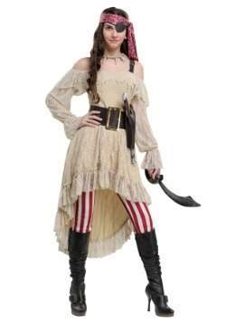 Swashbucklin' Sweetie Womens Plus Size Costume