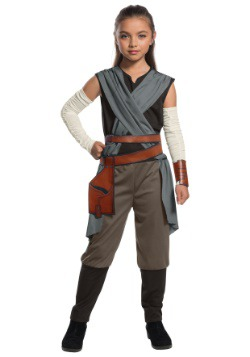 Star Wars The Last Jedi Classic Rey Kids Costume