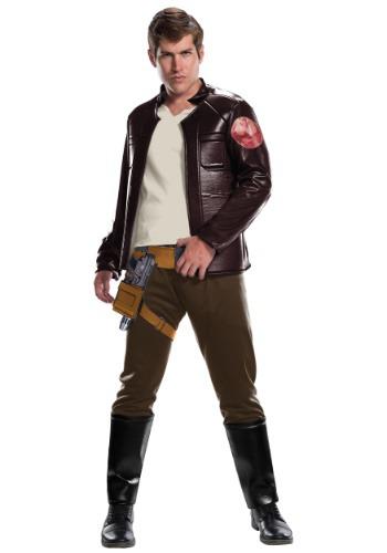 Star Wars The Last Jedi Deluxe Poe Dameron Adult Costume
