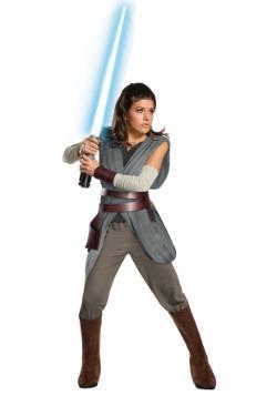Star Wars The Last Jedi Super Deluxe Rey Adult Costume