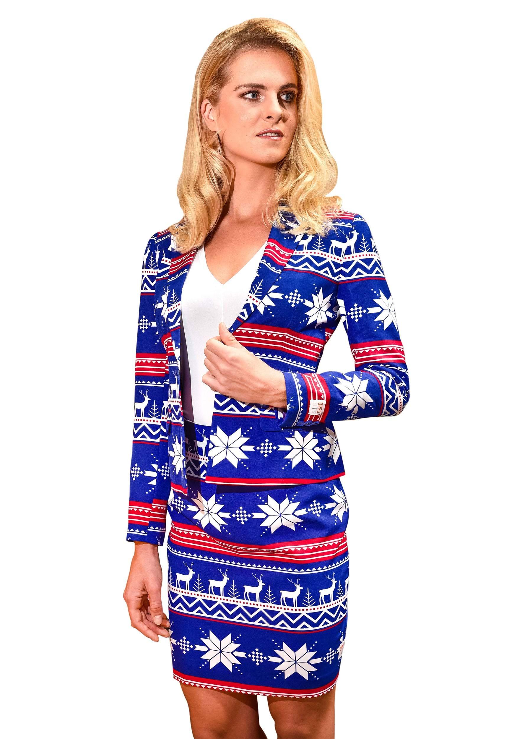f487e8ba225496 Women's Christmas Sweater OppoSuit