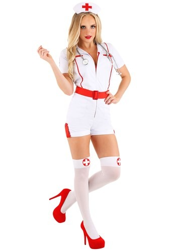 Women's Love Shot Nurse Costume 1