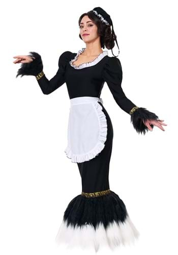 Women's French Feather Duster Costume