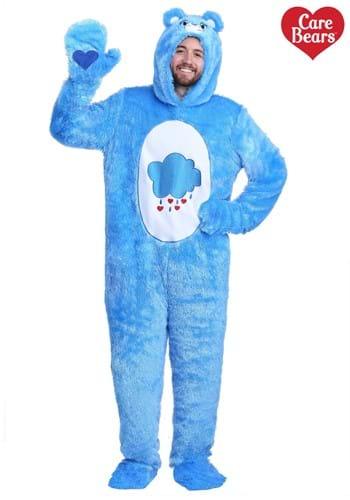 Adult Plus Size Care Bears Classic Grumpy Bear Costume