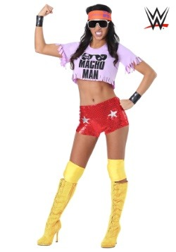 Macho Man Madness Women's Costume