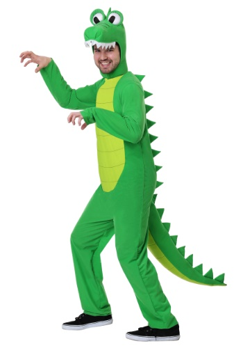 Adult Plus Size Goofy Gator Costume