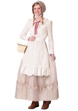 Women's Plus Size Prairie Pioneer Costume