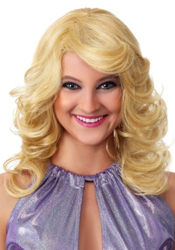 Women's 1970s Feathered Wig