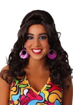 60s Gogo Mod Wig Brunette