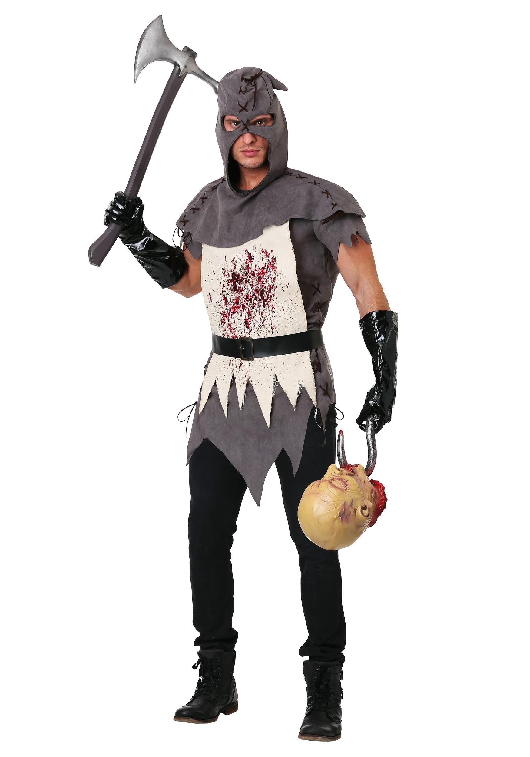 evil executioner costume for plus size men
