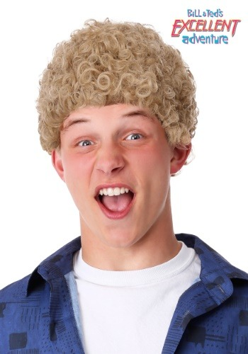 Bill & Ted's Excellent Adventure Adult Bill Wig