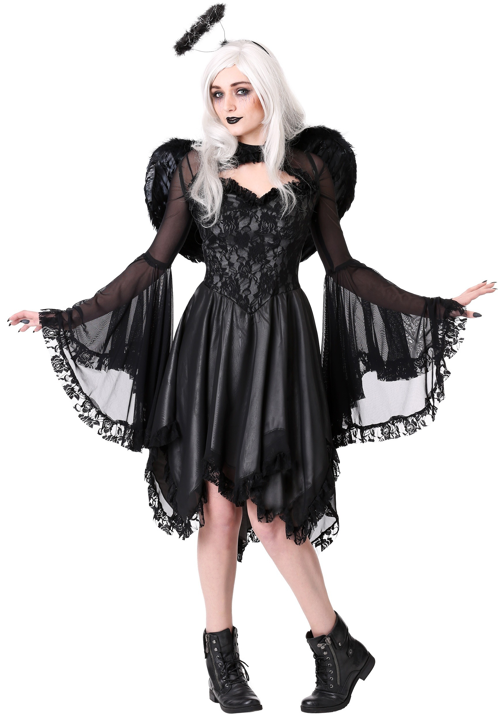 Classic Dark Angel Costume for Plus Size Women
