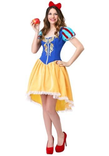 Women's Plus Ravishing Snow White Costume