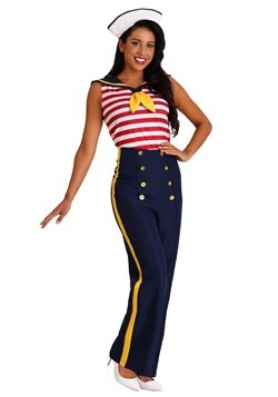 Women's Plus Size Perfect Pin Up Sailor Costume