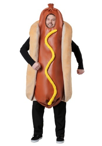 Adult Plus Size Hot Dog Costume