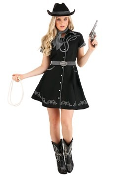 Women's Glitzy Cowgirl Costume