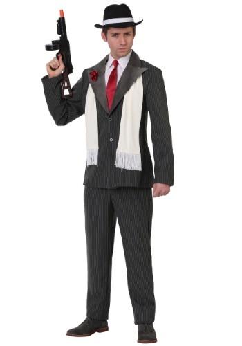 Men's Plus Size Vicious Gangster Costume