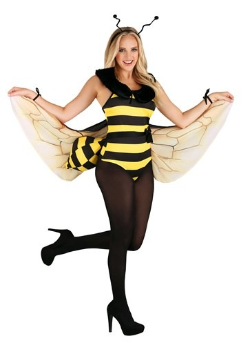 Women's Honey Bee Bodysuit Costume