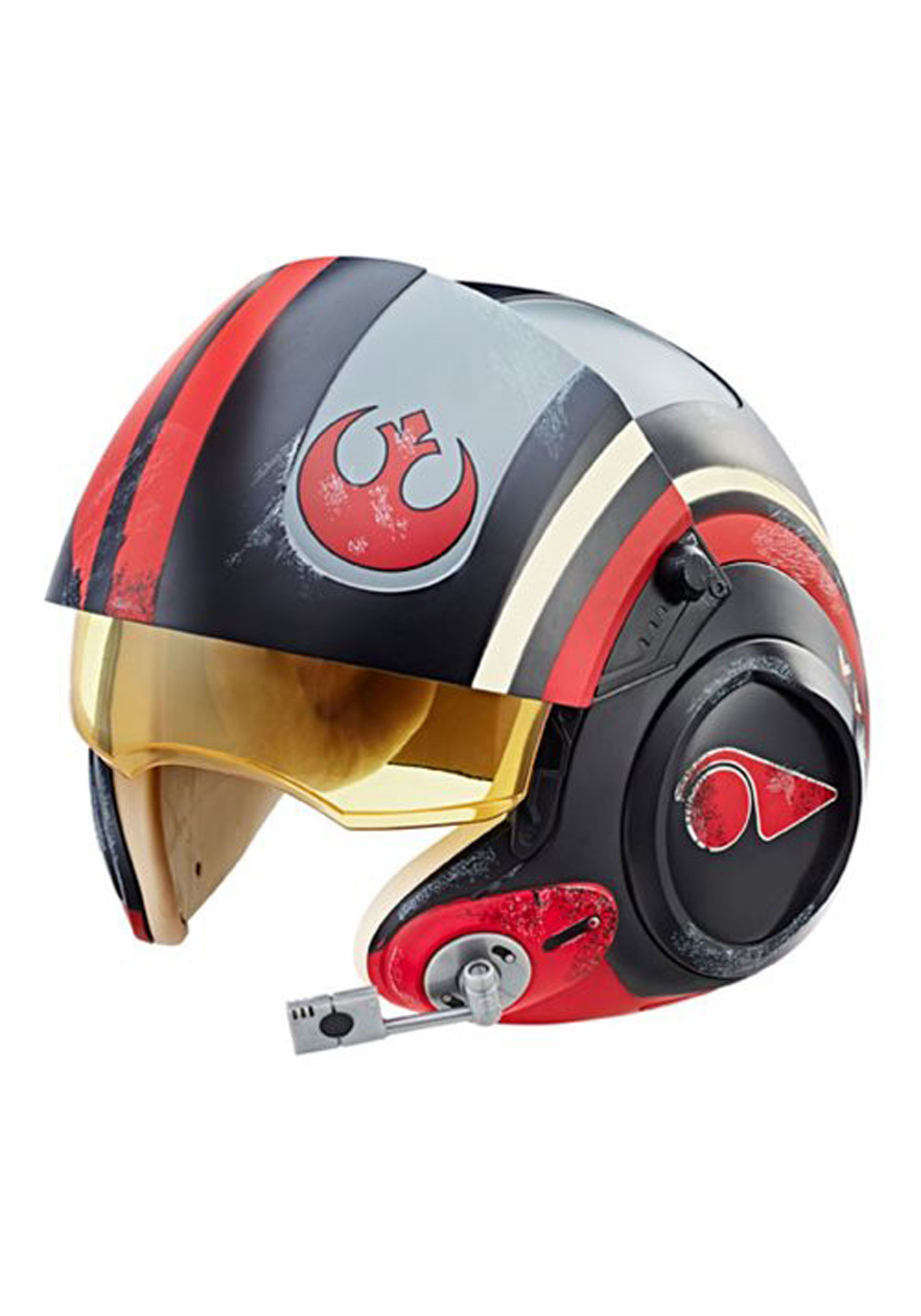 INOpets.com Anything for Pets Parents & Their Pets Star Wars The Black Series Poe Dameron Electronic Helmet