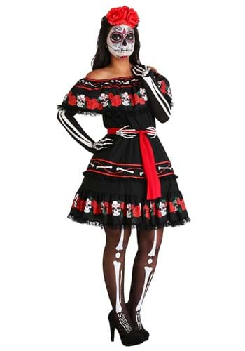 Women's Sugar Skull Costume