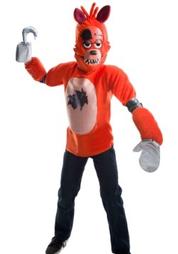 Five Nights at Freddy's Deluxe Foxy Kids Costume