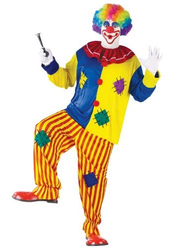 Plus Size Big Top Clown Costume