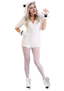 Women's Pretty Polar Bear Costume
