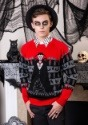 Dracula Vampire Ugly Halloween Adult Sweater update1 alt1