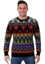 Adult Classic Horror Monsters Fair Isle Halloween Sweater