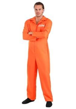 Men's Prison Orange Jumpsuit
