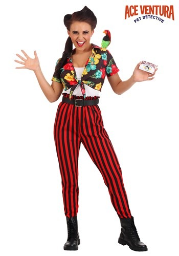 Ace Ventura Women's Costume
