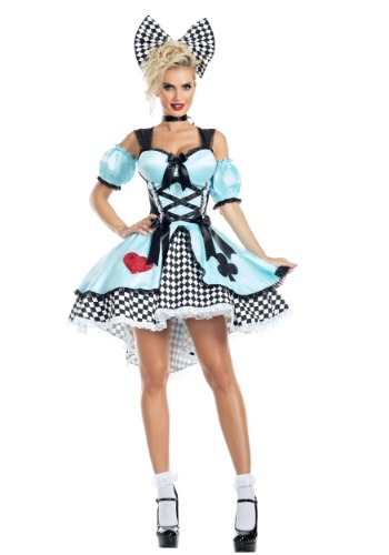 Flirtatious Alice Womens Costume
