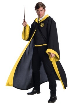 Deluxe Adult Hufflepuff Student Costume