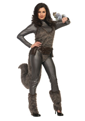 Womens Premium Squirrel Girl Costume