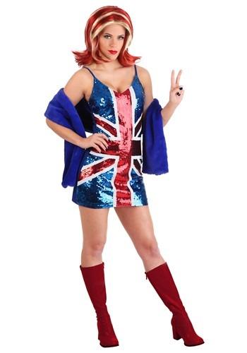 British Girl Power Popstar Costume Women's