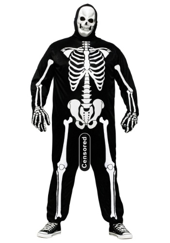 Plus Size Skele-Boner Costume
